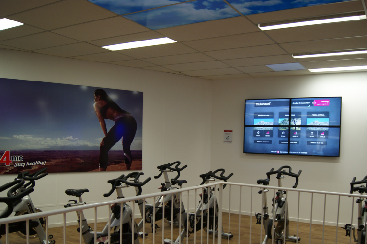 virtuele spinning