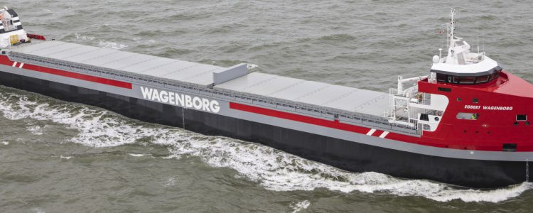 Banner wagenborg shipping case