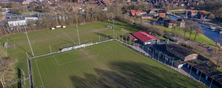 sportpark Schouwerzijlsterweg vv winsum Luchtfoto Sterkenburg media