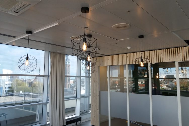 Storm Digital Groningen Audiovisuele installatie projectverlichting